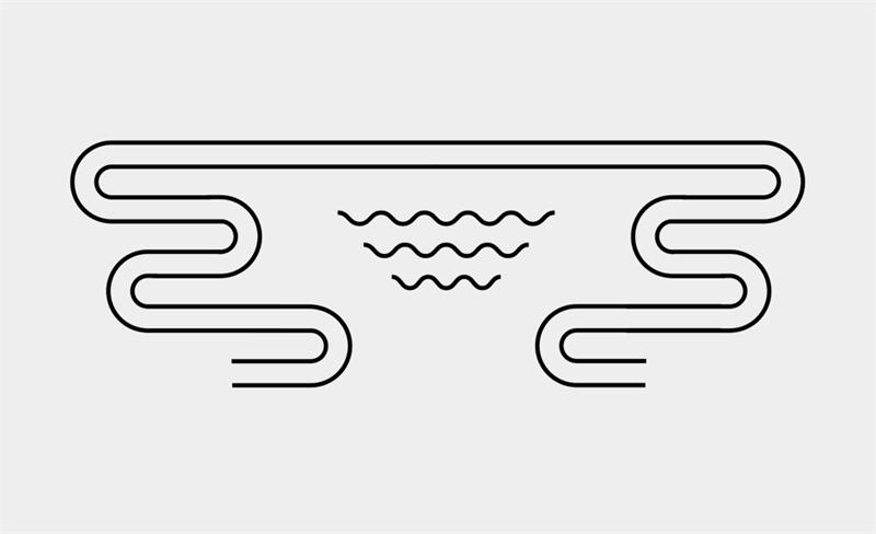 AI教程!手把手教你绘制线条装饰风格海报