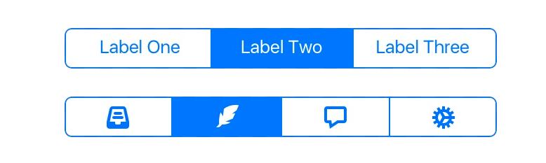 「这个控件叫什么」系列之小红点+索引导航+分段控件