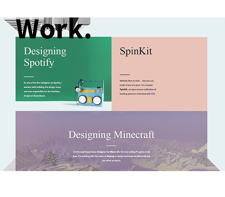 还在堆图片?来看看这11位UX设计师教科书级的作品集