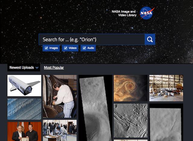 特色图库两连发!NASA官方图库+可商用免费图库