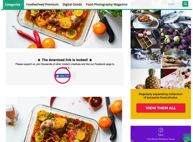 图库两连发!收录美食大图+提供1000+可商用图片的网站