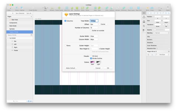 高效流程!手把手教你用Sketch建立一个新的App项目