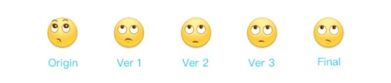 亿万好评的新版微博小黄脸表情,设计师是这么做出来的!