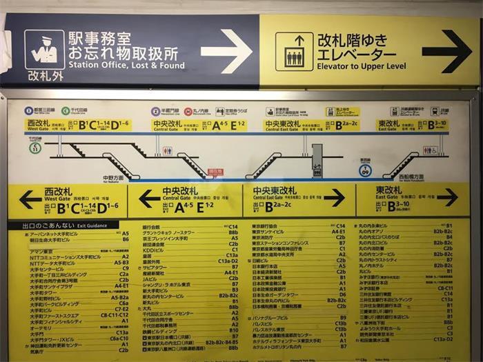 如何做到让每个人都不会迷路?聊聊日本东京的导视设计!