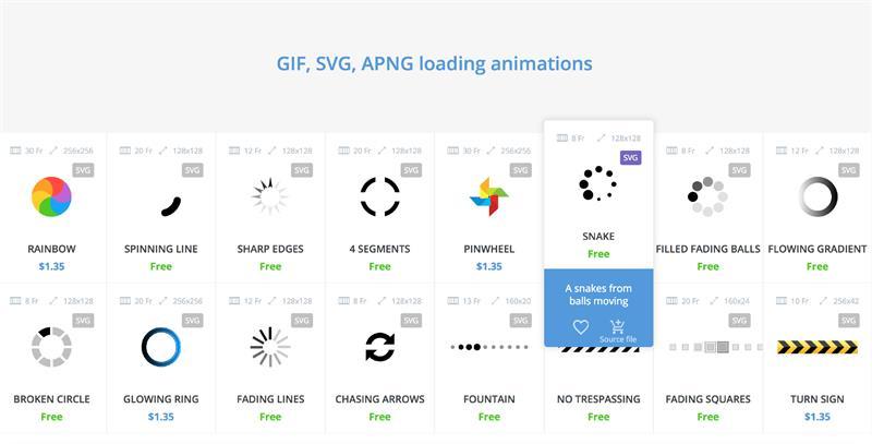 UI设计师必备!最全的加载动画网站Preloaders