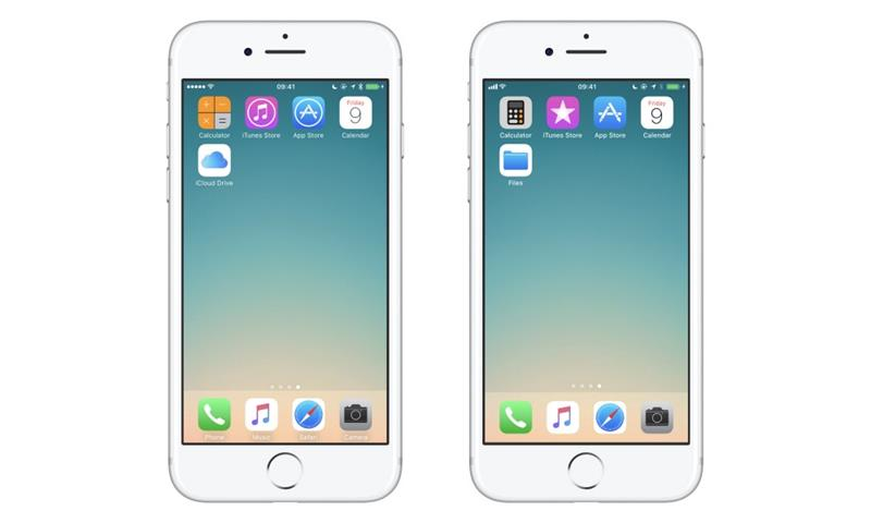 iOS 10 vs 11:一份全面深入的UI对比分析报告
