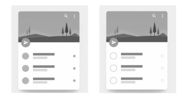 腾讯设计师:空心图标是否比实心图标难以识别?