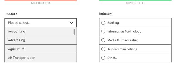 移动界面设计中,为什么下拉菜单应该是最后的选择?