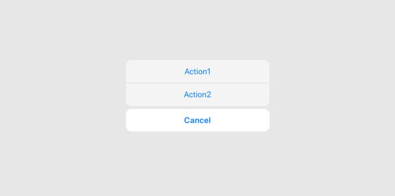 「这个控件叫什么」系列之动作菜单/动作面板