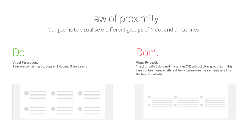 学会这5个法则,轻松掌握格式塔理论!