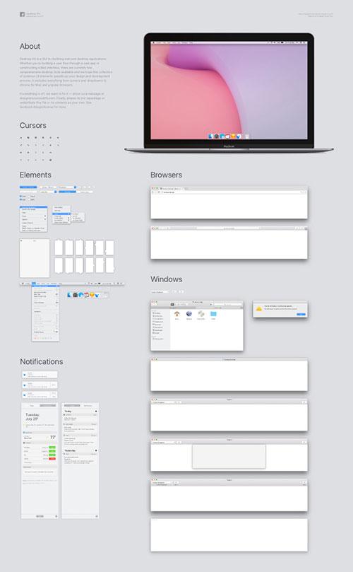 三款思源宋体改造繁体版免费下载+MacOS GUI素材打包