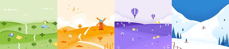 超全面!为什么越来越多的移动App 使用插画设计?