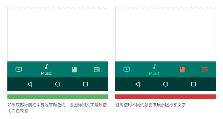 高手帮你学规范!iOS版和安卓的规范解析之底部标签导航