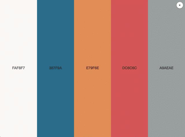 酷站两连发!超多灵感的在线配色神器+免费音效素材站