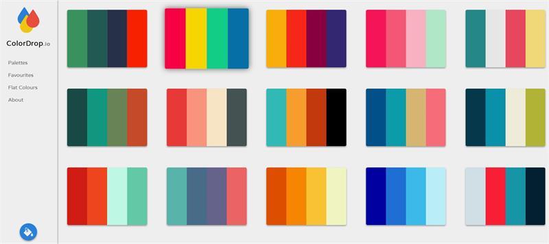 收藏这7个在线配色神器,再也不愁配色灵感了 !
