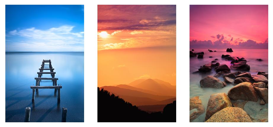 望天,渐变色彩灵感库就在我们的头顶的天空上