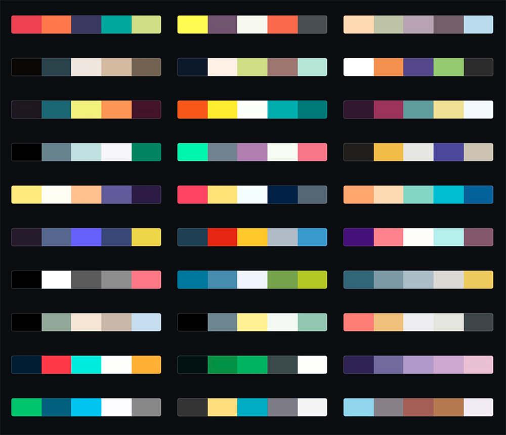 讲真,这可能是目前最全的在线配色工具合集了