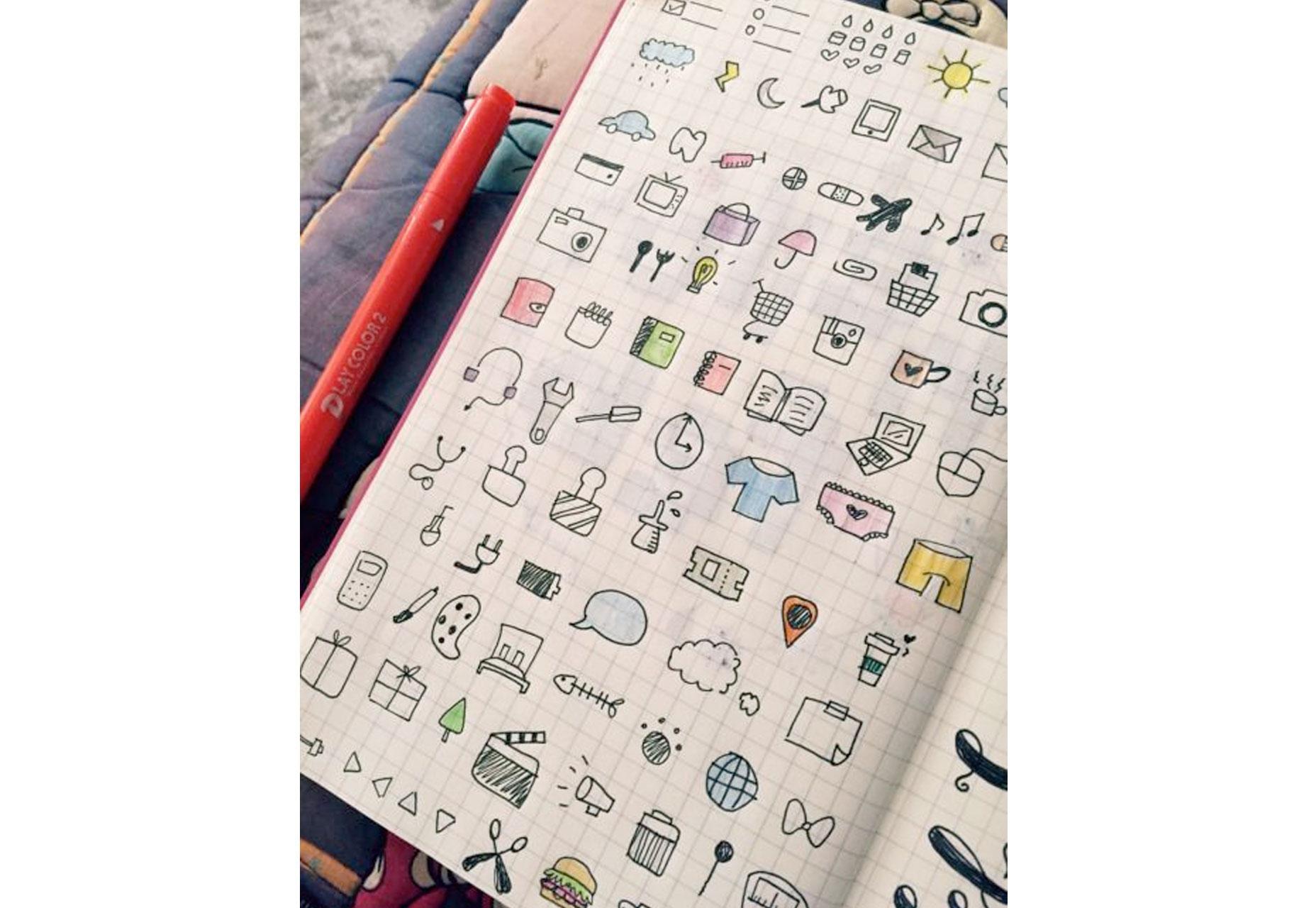 热爱写写画画的你,可以用子弹日记激发全部创意