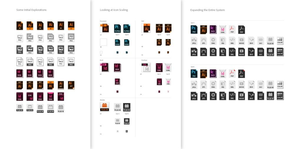 Adobe文件类型图标改版了?来看背后的设计思路!
