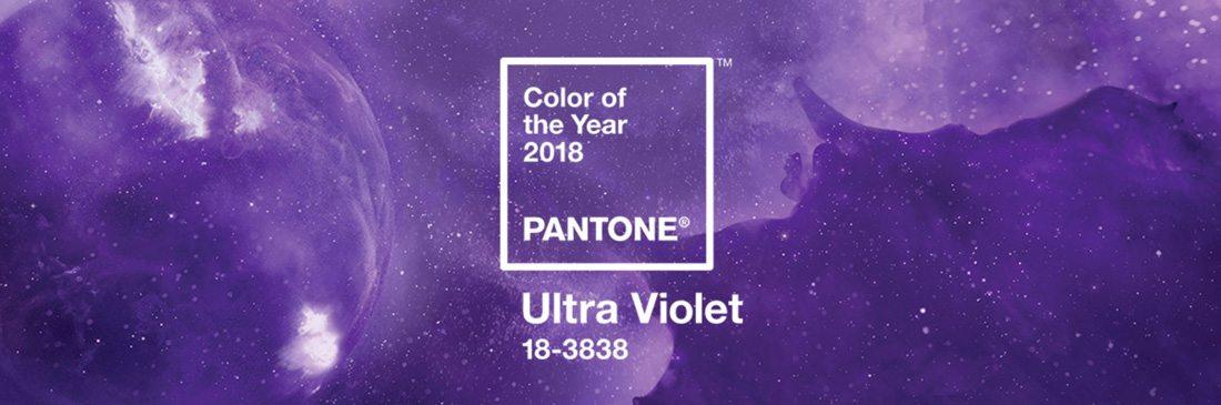 这款独特的紫色,是为你指引2018年设计方向的年度潘通色