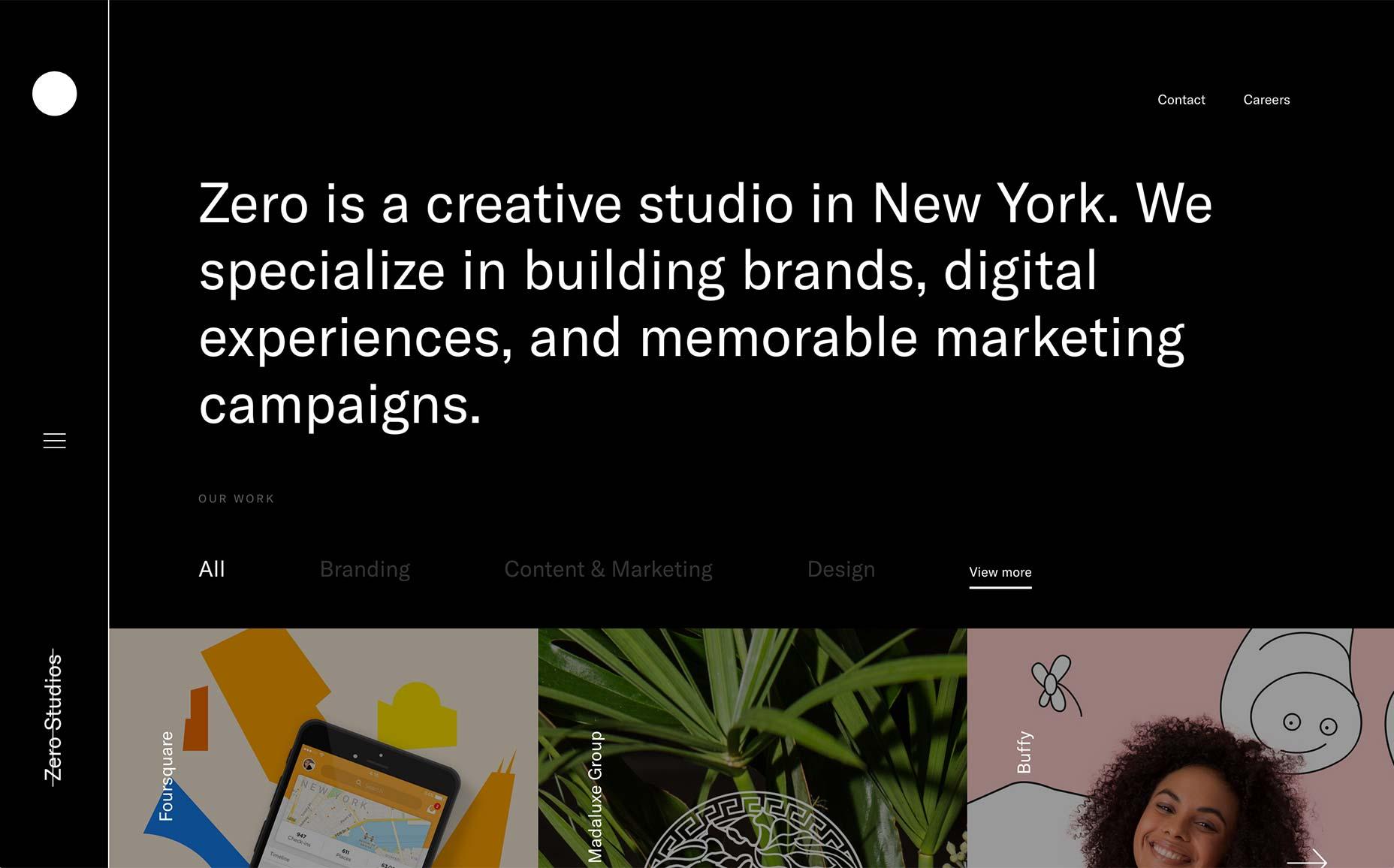 依然极简!进入2018年了设计师们是这样打造自己作品集的