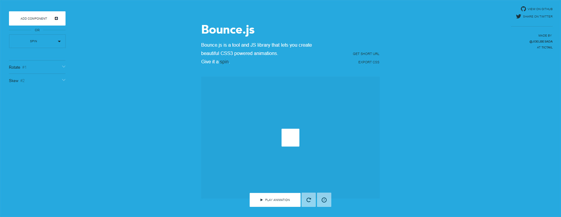 前端福利!10个免费好用功能强大的网页动画效果库