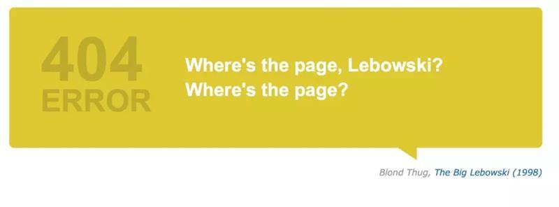可能是最全面的国内外知名404页面盘点