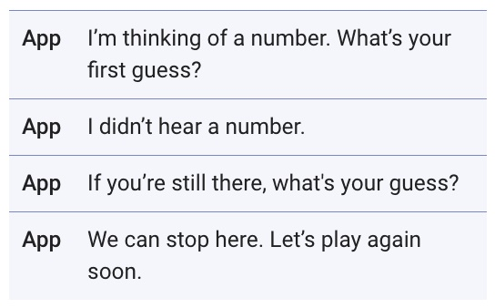"Google对话式交互规范指南(九):对话中不存在""错误"""