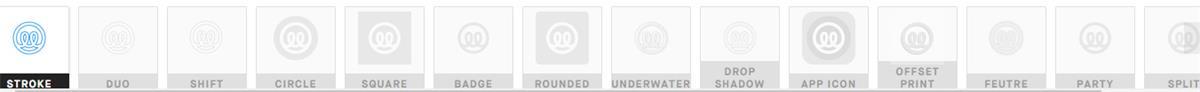设计神器!100%免费在线定制图标库Illustrio