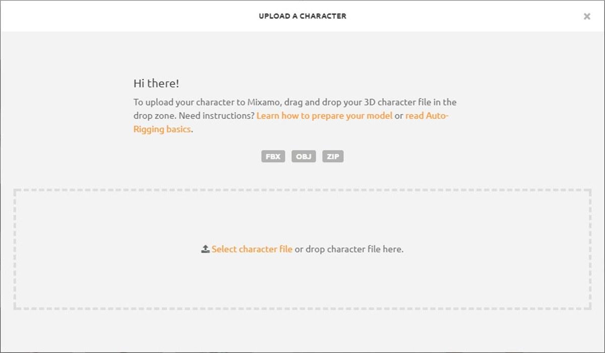 超简单!帮你快速做出3D人物动画的网站