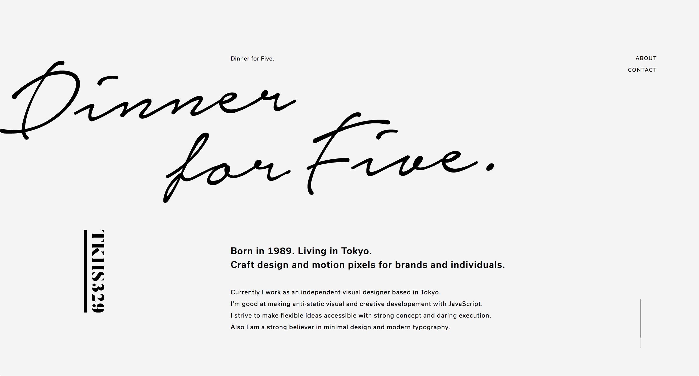 新年伊始,看看这20个最新的设计师作品集网站吧