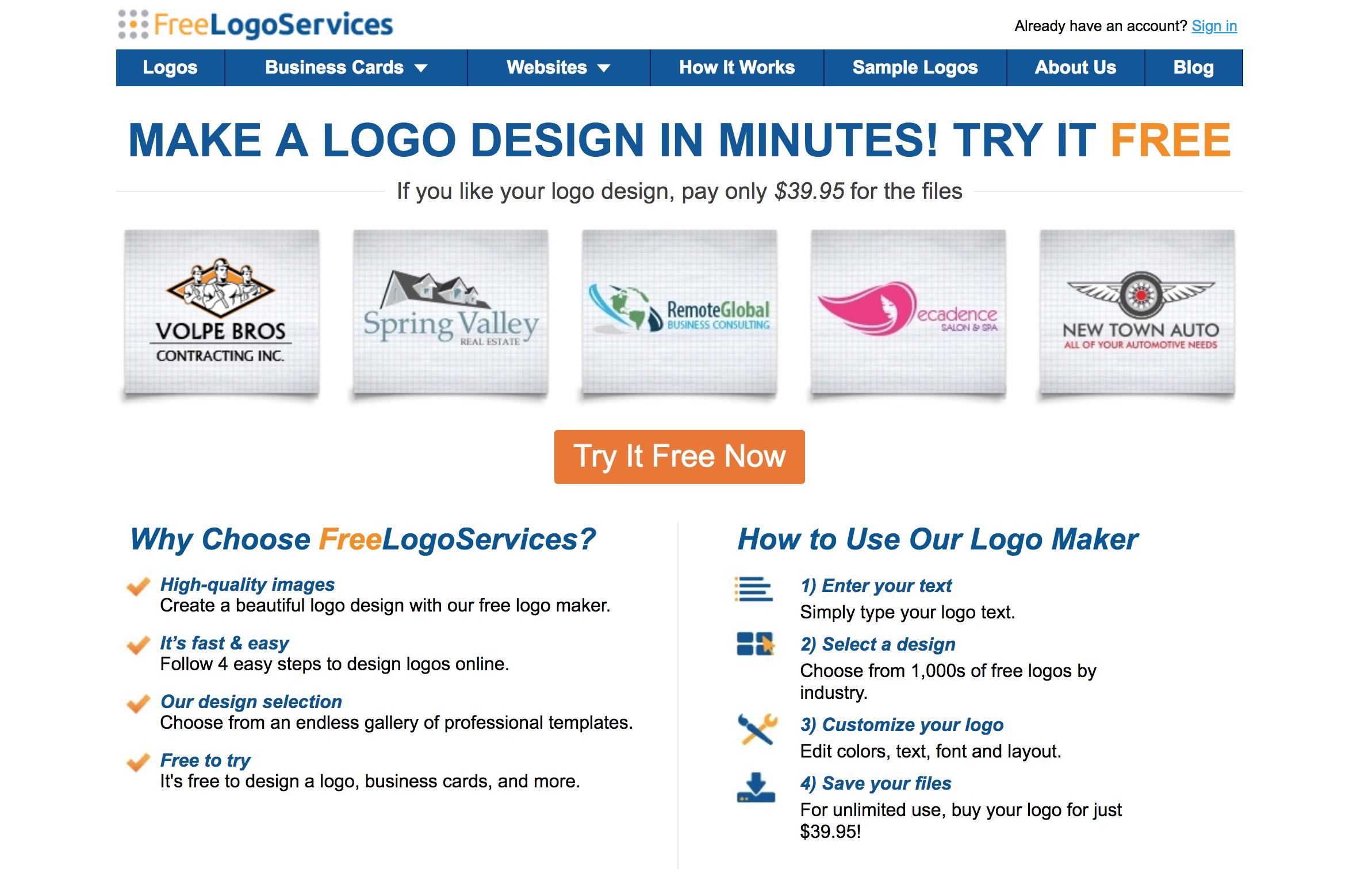 这11个基本免费的LOGO设计平台,总有一个适合你