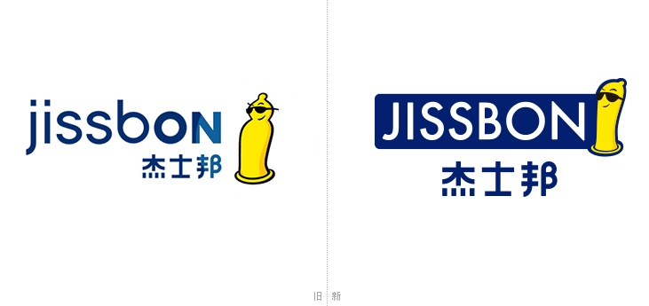 """知名避孕套品牌""""杰士邦""""优化品牌LOGO"""