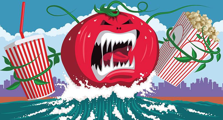 """美国著名影评网站""""烂番茄""""更换新LOGO"""