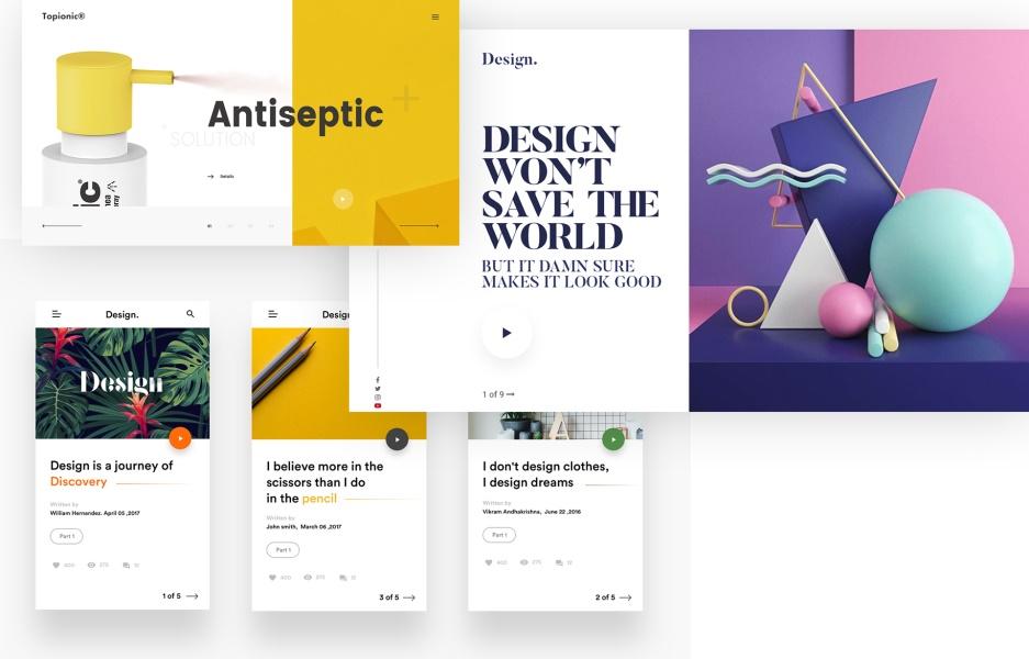 2018年Behance 上最值得关注的20个设计趋势