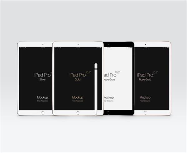 10个值得收藏的 iPad Pro 展示模型免费打包下载!