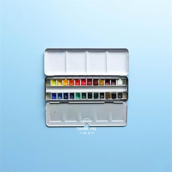 水彩自学第四集:水彩颜料常见问题和自用测评