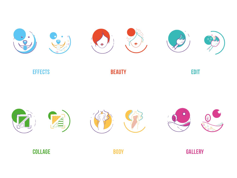 一个针对女性用户的照片编辑软件,要如何设计UI?