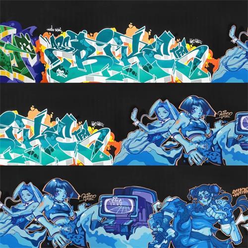蓝涂 x 万科 —— 告诉你们什么是涂鸦周末