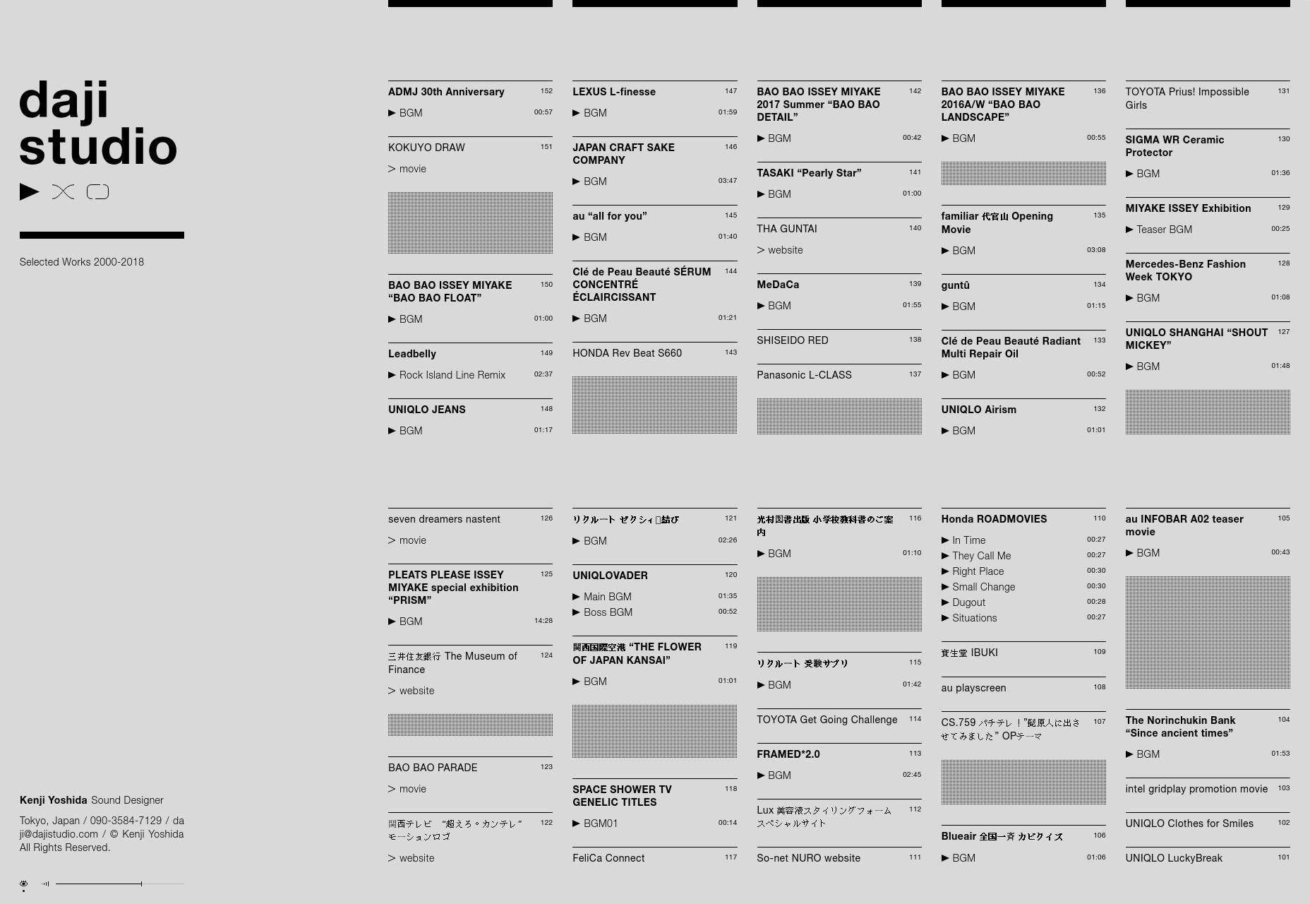 进入5月,看看别人都是怎么设计自己的作品集网站
