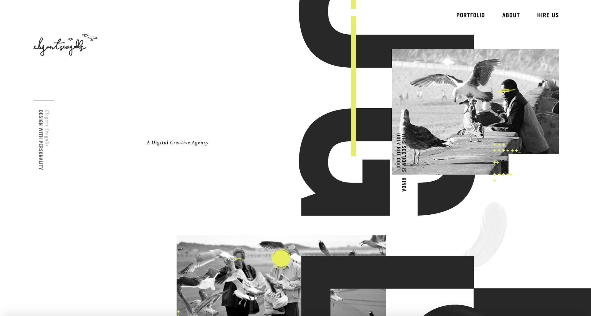 我们观察到,2018年网页文本字体的设计趋势有这7种