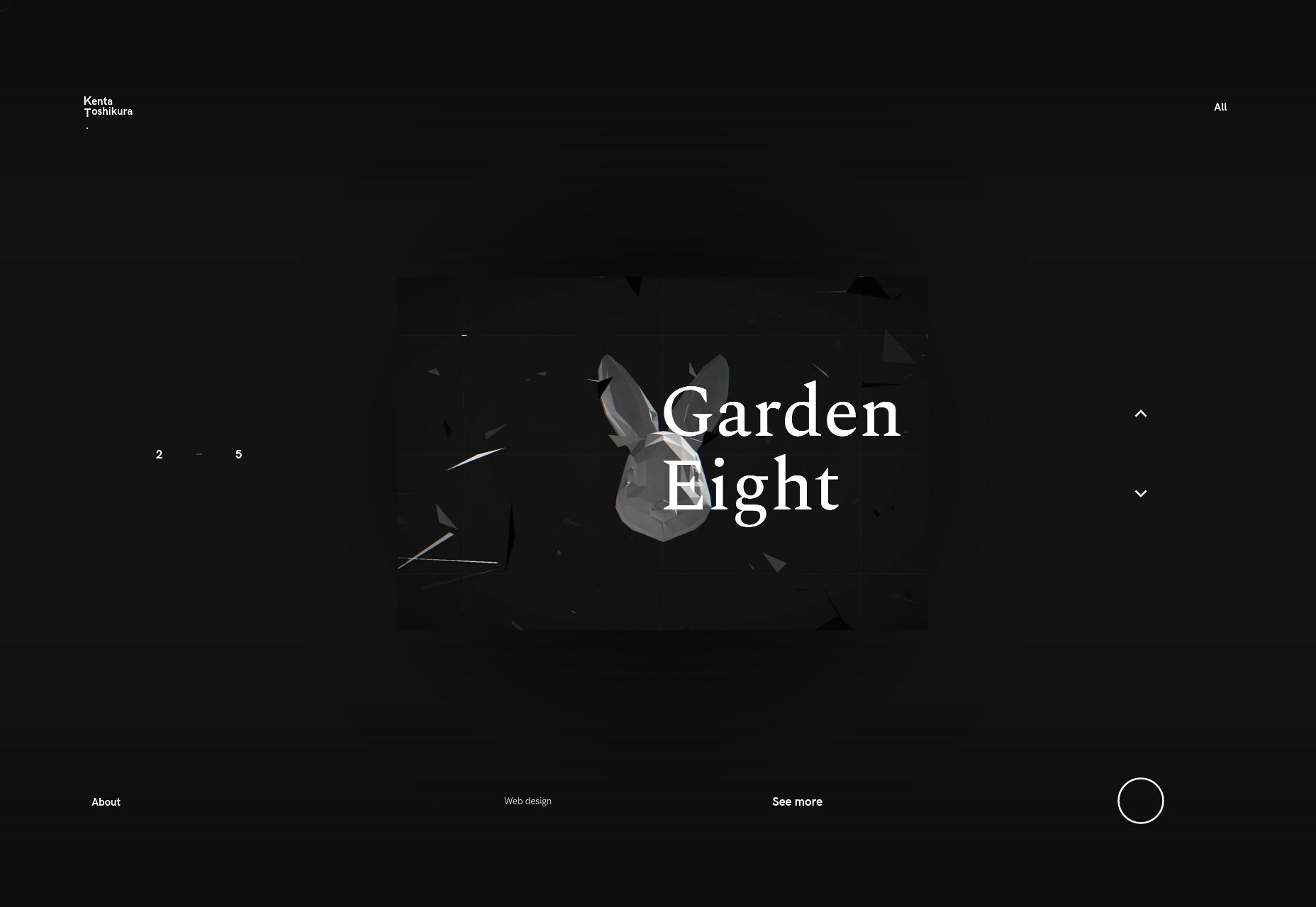 极简网站怎么设计?这20个设计师作品集网站给你灵感