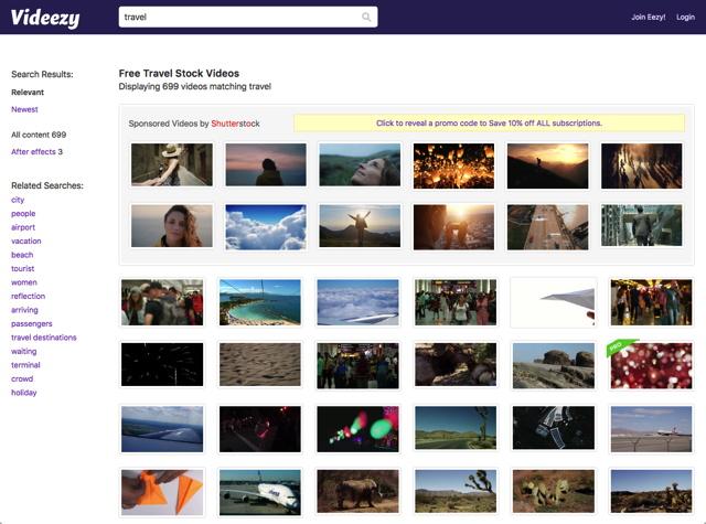免费可商用!上千个高画质、4K影片素材免注册直接下载!