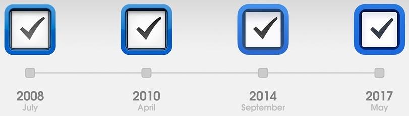 我回顾了App Store 十年来的视觉变化,告诉你设计趋势是如何演变的!