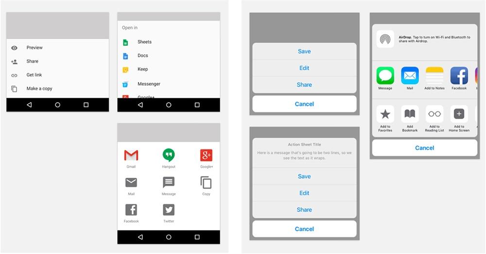 超全面!Android 应用与iOS 应用之间的设计差异对比