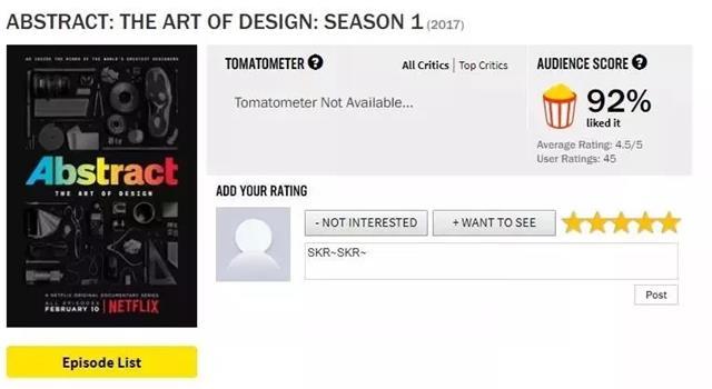 豆瓣9.4!Netflix这部汇集顶级设计师的纪录片,简直拍成了美剧的级别