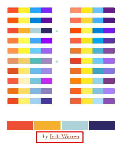 新手配色不用愁!用这个设计神器一键生成配色方案!