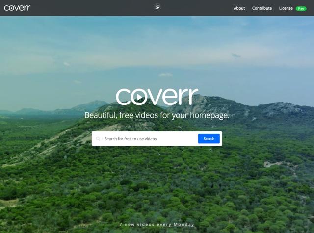 Coverr 2.0 重磅发布!可商用的免费影片素材更多了!
