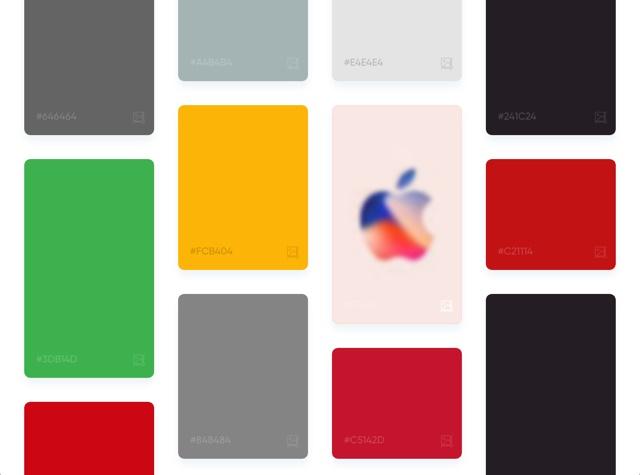 色彩界的 Google!给关键词就能帮你找配色的Picular