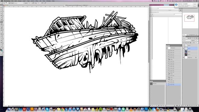 优设专访!为星球大战制作海报的插画师 Dan Mumford 的独家创作历程